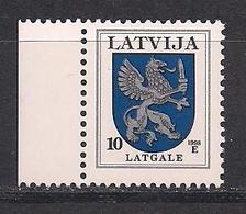 Latvia 1998 Definitive Issues.Arms. Mi 374AIII - Lettonie