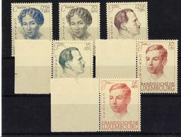 LUXEMBURGO **324/9 Nuevo Sin Charnela. Cat.50 € - Unused Stamps