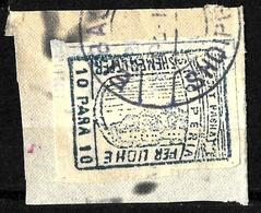 529 - ALBANIA - 1915 - LOCAL ELBASAN RAILWAY -  FORGERY - FAUX - FAKE - FALSE - FALSCH - Timbres
