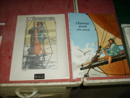 X-libris  + Publicité  L'Epervier - Ex-libris