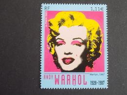 Timbre Neuf** France 2003 : Marilyn Monroe (1967) Par Andy Wahrol - France