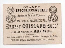 - CHROMO ERNEST CHISLARD - GRANDE ÉPICERIE CENTRALE - Rue St-Germain, ARGENTAN (Orne) - - Other