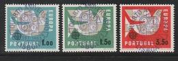 """Portugal / 1963 / Mi. 948-950 """"CEPT"""" Gestempelt (BG80) - 1910-... Republik"""