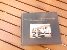 Album Photo Décoré D'un Avion Faisant Un Des 1ers Transports Postaux Internationaux - Neuf - Libros, Revistas, Cómics