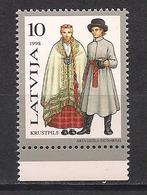 Latvia 1998 Traditional Costumes. Mi 479 - Lettonie