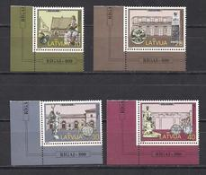 Latvia 1998 800th Anniversary Of Riga. Mi 481 - 484 LB - Lettonie