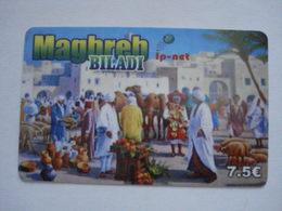 Carte Prépayée Française Maghreb Biladi ( Utilisée ). - Prepaid Cards: Other