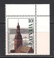 Latvia 1998 Church Architecture. Mi 488 Corner - Lettonie