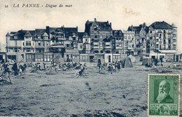 La Panne De Panne Digue De Mer ( Villa , Plage , Timbre De Liège - De Panne