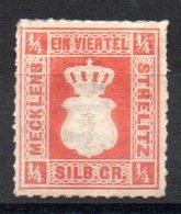 MECKELNBOURG-STRELITZ - YT N° 1 - Neuf Sg - Cote: 250,00 € - Mecklenburg-Strelitz
