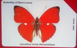 Sierra Leone 10 Units Butterfly - Sierra Leone