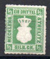 MECKELNBOURG-STRELITZ - YT N° 2 - Neuf Sg - Cote: 100,00 € - Mecklenburg-Strelitz