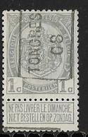 Tongeren  1908  Nr.  1157A - Préoblitérés