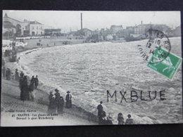 Les Glaces En Loire Face Quai Richebourg 1914 - Nantes