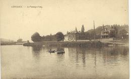LOVEGNEE ; Le Passage D'eau - RARE CPA - Cachet De La Poste 1925 - Huy