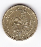 2009 EURO 0,10 - Autriche