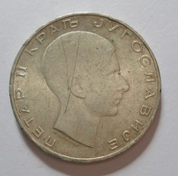 YUGOSLAVIA 50 DINARA 1938 SILVER, ARGENT. YOUGOSLAVIE - Yugoslavia