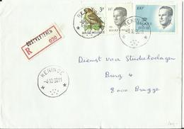 "ST091 : Brief Met Sterstempel "" RENINGE "" - Sternenstempel"