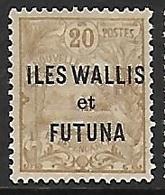 WALLIS-ET-FUTUNA N°7 N* - Wallis Und Futuna