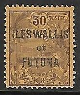 WALLIS-ET-FUTUNA N°9 N* - Wallis Und Futuna