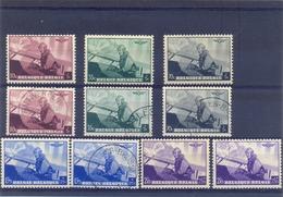 Nrs. 466/470  ** Postgaaf MNH + Gestempeld 32 Côte - Unused Stamps