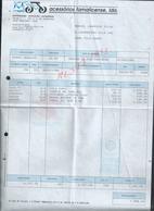 PORTUGAL FACTURE ILLUSTRÉE DE 1992 ACESSORIOS FAMALICENSE MOTORIZADAS BICICLETAS À FAMALICAO :  : - Portugal