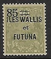 WALLIS-ET-FUTUNA N°33 N* - Wallis Und Futuna