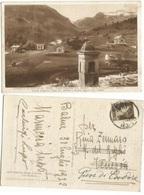 Cornetti Balme TO + Paschet Ovarda Teja Servin Cart.sepia 1ago1932 X Pieve Cador - Altre Città