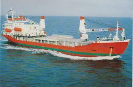 Icebird M/v Arctic & Antarctic Special Purpose Ship Postcard Unused (47681A) - Polar Ships & Icebreakers
