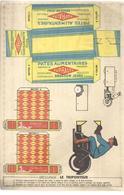 PUBLICITE - IMAGE A DECOUPER - PATES SUPRALTA - GRAND MODELE - TRES BON ETAT - Publicités