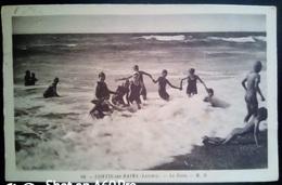 CONTIS LES BAINS - LE BAIN - VIAGGIATA 1938 - Francia