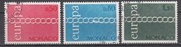 Monaco  Europa Cept 1971 Gestempeld Fine Used - 1971