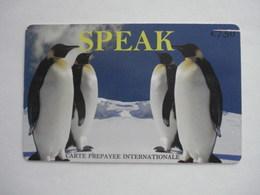 Carte Prépayée Française Speak  ( Utilisée ). - Prepaid Cards: Other