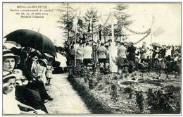 88 - MENIL Sur BELVITTE - Service Commémoratif Du Combat Des 26 -27-28 Aout 1914 - Pendant L'absoute - France