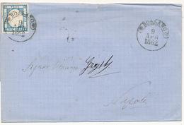 1862 PROVINCE NAPOLETANE ROSSANO CERCHIO  X NAPOLI - Naples