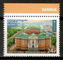 Russia 2017 Rusia / Europa CEPT Castles MNH Castillos Schlösser / Cu16524  30-29 - 2017