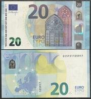 2015-BILLETE DE 20 EUROS-SIN CIRCULAR-E007D4 - EURO