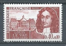 France YT N°1623 Louis Le Vau Neuf ** - Unused Stamps
