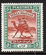 Sudan SG # 27 Very Fine MH (698) - Sudan (...-1951)