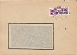 DDR ZKD 11 -9011 EF, Auf Brief Des Mähdrescherwerks, Gestempelt: Weimar 16.1.1957 (?) Nach Wutha - Service