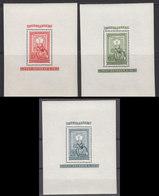 Hongrie 1951 BF Yvert 26 / 28 ** Neufs Sans Charniere Legiposta - Ungarn