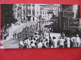 Photo  NANCY - COURSE CYCLISTE - TOUR DE FRANCE ? - 1989 - Format : 15 X 8 Cm - Sports
