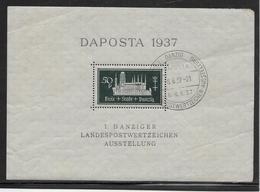 Dantzig Bloc N°1 - Oblitéré - B - Autres - Europe
