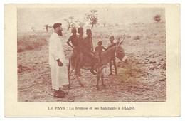 """AFRIQUE - NIGER - """"La Brousse Et Ses Habitants à DIABO"""" - CPA - Niger"""