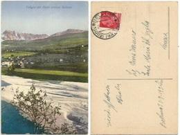 Vallata Del Piave Presso Belluno Cart.colore 21set1930 X Venezia - Belluno