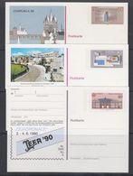 Europa Cept 1983 + 1986 + 1990 Germany Postal Stationery (3) Unused (47685) - Europa-CEPT