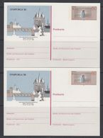"Europa Cept 1983 Germany ""Lympurga"" Postal Stationery  (2x)  Unused (47686) - Europa-CEPT"