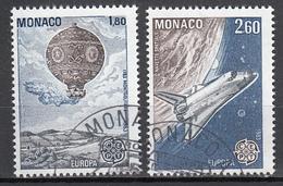 Monaco Europa Cept 1983 Gestempeld Fine Used - Europa-CEPT