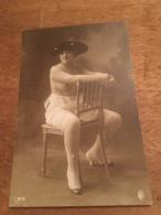 Ancienne Carte Postale Photographie Erotique Femme Nu 1930 Paris - Nus Adultes (< 1960)