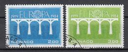 Monaco   Europa Cept 1984 Gestempeld Fine Used - 1984